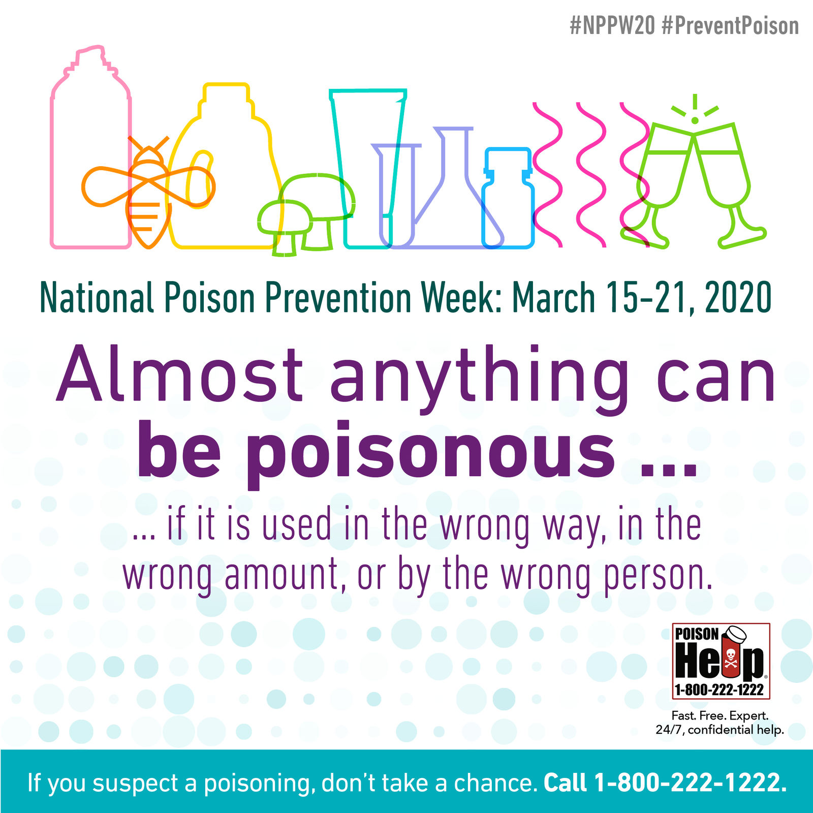 Image result for poison prevention week 2020